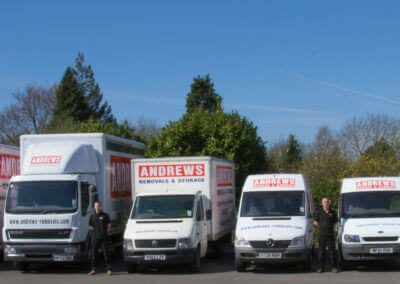 Gloucester Andrews Removals fleet