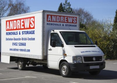 Gloucester Company Andrews Removals van
