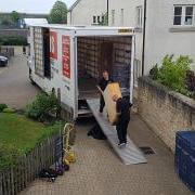 unloading-removals-van-cheltenham